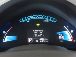 Test Drive: 2012 Nissan Leaf SL green reviews