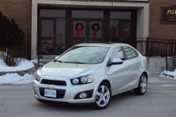 Test Drive: 2012 Chevrolet Sonic LTZ sedan chevrolet