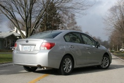Test Drive: 2012 Subaru Impreza 2.0i Touring sedan reviews