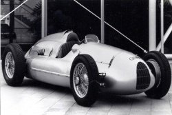 1937 Auto Union V12 Grand Prix racer
