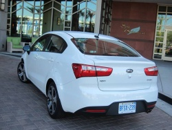 First Drive:  2012 Kia Rio sedan first drives