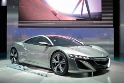 Acura NSX concept; photo by Paul Williams
