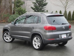 Test Drive: 2012 Volkswagen Tiguan Highline volkswagen car test drives reviews