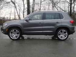 Test Drive: 2012 Volkswagen Tiguan Highline reviews volkswagen car test drives