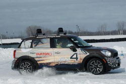 Feature: Mini winter driver training winter driving mini insights advice health and safety auto articles