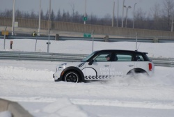 Mini winter driver training