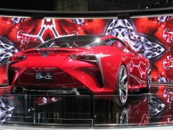 Feature: A new look for Lexus   LF LC concept auto brands
