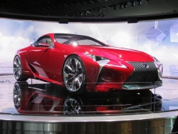 Feature: A new look for Lexus   LF LC concept auto articles auto brands