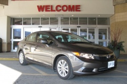 Test Drive: 2012 Honda Civic EX sedan car test drives reviews honda