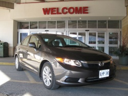 Test Drive: 2012 Honda Civic EX sedan reviews honda car test drives