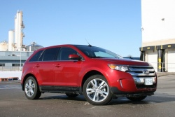 Test Drive: 2012 Ford Edge EcoBoost car test drives reviews ford