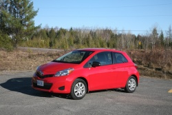 Day by Day Review: 2012 Toyota Yaris three door daily car reviews toyota