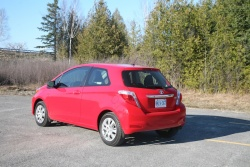 Day by Day Review: 2012 Toyota Yaris three door toyota daily car reviews