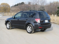 Test Drive: 2012 Subaru Forester car test drives subaru reviews