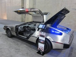 Delorean electric vehicle