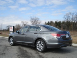 Test Drive: 2012 Honda Accord EX L car test drives reviews honda