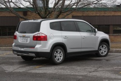Second Opinion: 2012 Chevrolet Orlando LT reviews chevrolet car test drives