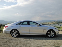 2012 Mercedes-Benz CLS 350 CDI (European model)