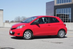 Test Drive: 2012 Toyota Yaris CE three door toyota car test drives reviews
