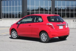2012 Toyota Yaris CE three-door