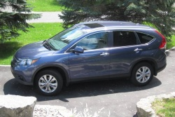 Test Drive: 2012 Honda CR V Touring honda