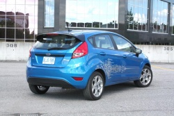 Test Drive: 2012 Ford Fiesta SES hatchback car test drives reviews ford