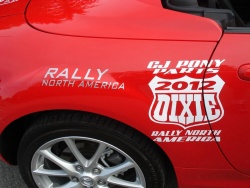 Rally Dixie 2012 Team Canada Mazda MX-5