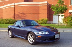 One From the Vault: 2001 Mazda Miata Test Drive car test drives motoring memories mazda