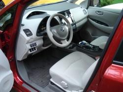 Test Drive: 2012 Nissan Leaf SL reviews green scene nissan car test drives