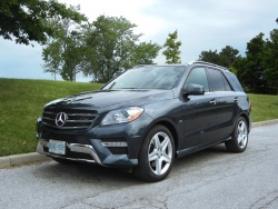 Test Drive: 2012 Mercedes Benz ML 350 Bluetec Diesel luxury cars