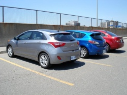 Comparison Test: Compact Cars, version 2.0 reviews mazda hyundai car comparisons chevrolet