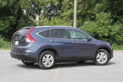 Quick Spin: 2012 Honda CR V Touring car test drives reviews honda