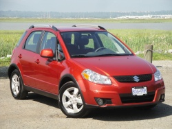 Test Drive: 2012 Suzuki SX4 JLX AWD car test drives suzuki