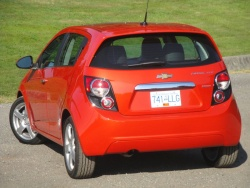 Test Drive: 2012 Chevrolet Sonic LTZ automatic car test drives reviews chevrolet