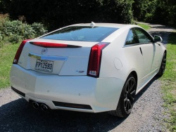 Test Drive: 2012 Cadillac CTS V coupe car test drives reviews luxury cars cadillac