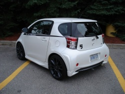 Quick Spin: 2012 Scion iQ Five Axis Design car test drives scion reviews motorsports customization car culture