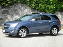 Test Drive: 2012 Chevrolet Equinox car test drives reviews chevrolet
