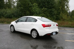 Day by Day Review: 2012 Kia Rio Sedan car test drives kia daily car reviews