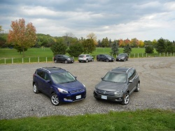 Comparison Test: Compact Crossovers, Round Two volkswagen kia hyundai honda ford car comparisons chevrolet