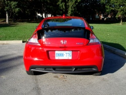 Test Drive: 2012 Honda CR Z car test drives hybrids honda
