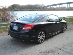 Test Drive: 2012 Honda Civic Si HFP reviews honda car test drives