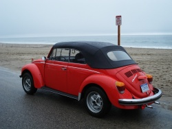 Final Drive: 1980 Volkswagen Beetle Convertible car culture
