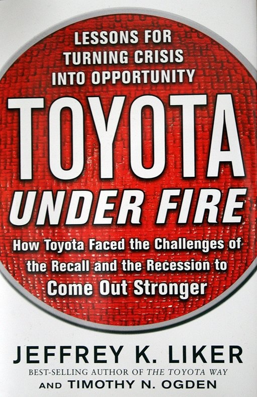 Book review: Toyota Under Fire   Lessons for Turning Crisis into Opportunity car culture auto book reviews