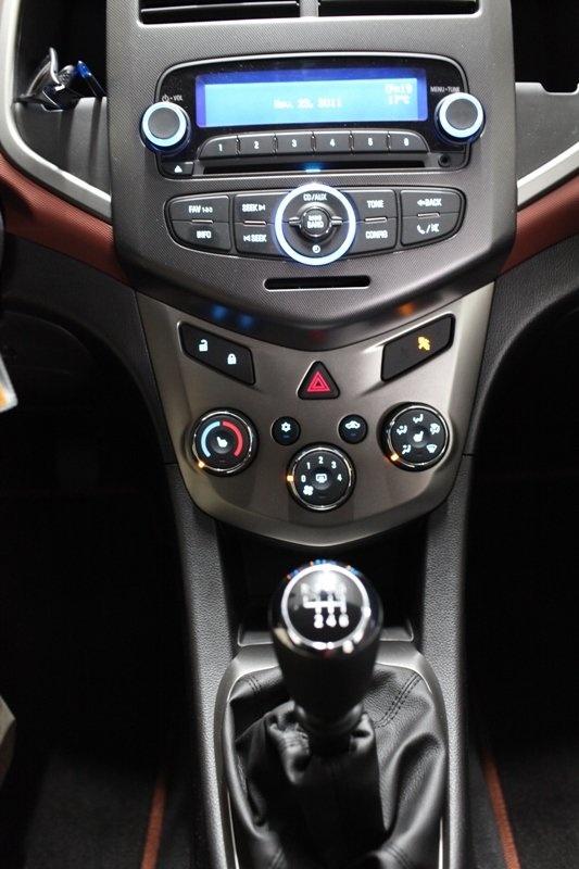 Test Drive 2012 Chevrolet Sonic Ltz Hatchback Autos Ca