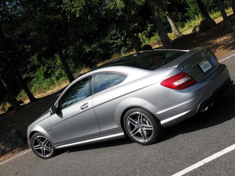 2013 Mercedes Benz C63 AMG Coupe
