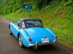Road Trip: 1956 MGA Maiden Voyage travel motoring memories