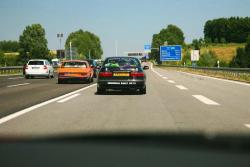 Driving a Supercar on the Autobahn