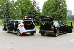 2014 Kia Rondo vs 2013 Mazda5