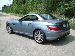 Test Drive: 2013 Mercedes Benz SLK 55 AMG luxury cars