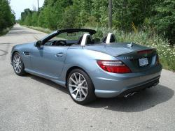 Test Drive: 2013 Mercedes Benz SLK 55 AMG car test drives mercedes benz luxury cars